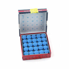 Box Of 50pcs Glue-on Pool Billiards Snooker Cue Tips 10mm