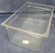 RUBBERMAID GN 1/1 200 mm tief Gastronorm-Behälter Polycarbonat klar ohne Griffe