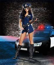 Sexy Costume Poliziotta donna per Travestimento Carnevale sexy halloween HOT