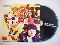 FIELD MUSIC : TONES OF TOWN ▓ CD ALBUM PORT GRATUIT ▓