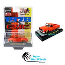 M2 Machines Square Body Truck 1976 GMC Sierra Grande 15 (Red)  MiJo 1:64