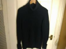Windsmoor Small Black Long Sleeve Wool Blend Jumper