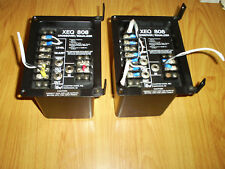 VINTAGE ELECTRO VOICE XEQ808 CROSSOVER EQUALIZER