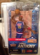 McFarlane's EXCLUSIVE COLLECTOR'S CLUB 1 of 4,008 CARMELO ANTHONY Hardwood Class