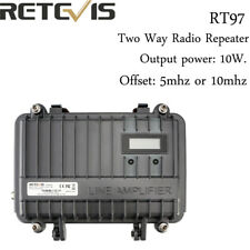 Retevis RT97 Repeater Power Divider Dustproof 16CH UHF/VHF Ham Radio Small Size