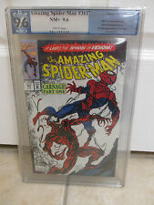 Amazing Spider-Man (1963 1st Series) #361 PGX (Like CGC) 9.6 - 1st Carnage lot 2