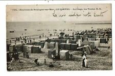 CPA-Carte Postale-FRANCE-Boulogne sur Mer- Le Portel-La Plage   VM15121