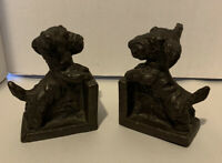 Vintage Scottie Dog Bookends AMV NewJersey