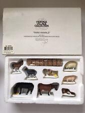 Department 56 Heritage Village Farm Animals (set of 8)