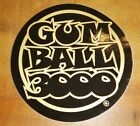 Gum Ball 3000 Aufkleber Sticker, Straßen Autorennen, Streetrace, 10 x 10cm