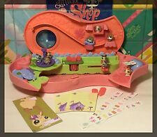 Littlest Pet Shop TEENSIES PENCIL CASE BOX Teeniest Tiniest w/ 9 PETS