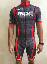 Wattie Ink Tri Complete Set - Bib Shorts, Jersey and accessories! Size Large