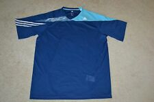 Adidas F50 SS CL Performance Jersey Shirt Color: Dark Blue/Aqua Men's Large NWT