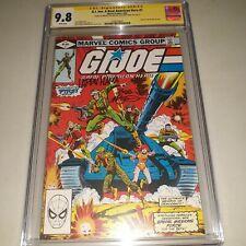2x Signed CGC SS 9.8 G I Joe #1 A Real American Hero Marvel 1982 McLeod & Hama
