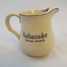 Ambassador Deluxe Scotch Pitcher Water Pub Jug Wade Regicor Great Britain