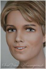JOHN NISSEN vintage Büste von Schaufensterpuppe Mannequin Bust Schaufensterfigur