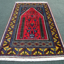 Âge tapis oriental 200 x 120 cm turc yahyali Old Red Turkish Carpet Rug