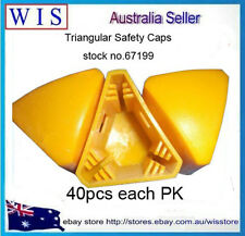 40PCS/BAG YELLOW STEEL POST CAPS,STAR PICKET CAPS,YELLOW,PLASTIC-67199