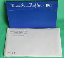 1971 Proof and Uncirculated Annual US Mint Coin Sets PDS 16 Original Coins