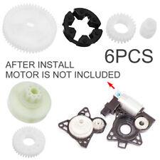 6Pcs Window Motor Gear Regulator Kits Fit For Mazda 3 5 6 CX-7 CX-9 RX-8 12V