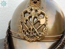 Britisch Feuerwehrmann Kopf Helm Antik Handgefertigt Qualität Geschenk