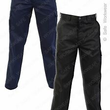Absolute Workwear Combat Cargo Trouser - Black  - Navy All sizes