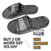 PROCLUB PRO CLUB MENS CASUAL SLIPPERS WATER RESISTANCE SHOWER SHOES SANDALS 7-13