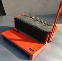 PERFOREUSE ET REIIEUSE IBICO  AG 346 Manuel Peigne U  Orange made in GERMANY