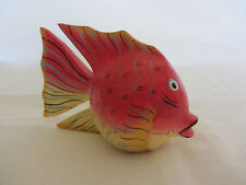 HAND CARVED TROPICAL FISH
