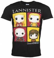 Game Of Thrones T Shirt Lannister Bling Art new Official Mens Black
