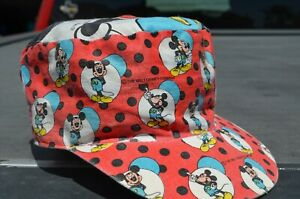 vtg Mickey Mouse painters baseball cap hat Disney