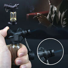 Torch Windproof Refillable Cigarette Cigar Jet Flame Lighter Gift Smoking Supply