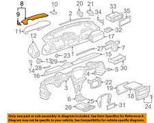 PORSCHE OEM 00-05 911 Instrument Panel Dash-Defroster Trim Right 99655218604A03