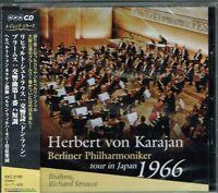 Brahms R.Strauss Karajan Berliner Philharmoniker tour in Japan 1966 CD w/OBI NEW