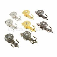 Curtain Hook Crystal Rose European style Home decor Pothook Curtain Accessories