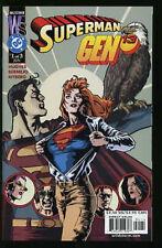 SUPERMAN GEN 13 1-3 NEAR MINT SET 2000