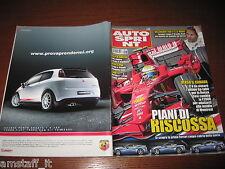 AUTOSPRINT 2008/23=RALLY ACROPOLI LOEB=TEST MASERATI GT S=LAMMERS=VILLENEUVE=
