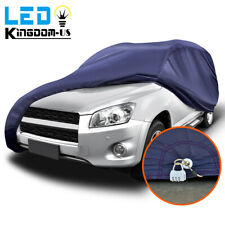 16ft Full Car Cover Waterproof Sun Uv Rain Snow Wind Dust Resistant Protection Fits Jeep