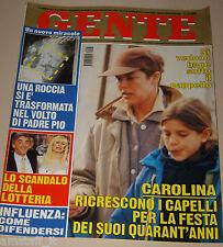 GENTE=1997/3=CAROLINE MONACO=VACLAV HAVEL EDAGMAR VESKRNOVA=SANT'ANGELO MUXARO=