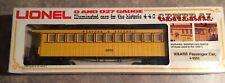 Lionel The General 4-4-0 S O Gauge Train 6-9552