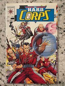 The Hard Corps #1 NM 1st Print Signed By David Michiline Valiant Comic Book J594