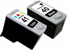 2PK FOR CANON PG 40 CL 41 PG40 CL41 0615B002 0617B002 PIXMA IP1200 IP1300 IP1600