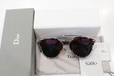 'New never used' Dior SOREAL AOOTT 48/22 140- Havana Palladium Lady Sunglasses