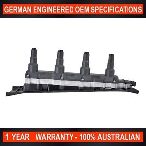 SWAN Ignition Coil Pack for Saab 9-5 9-3 2.0L Turbo 2.3L Turbo - Black Top