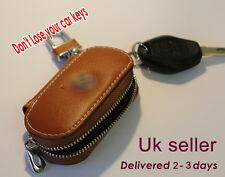 Genuine leather car key bag for Lexus . Brown color - uk seller