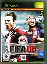 Xbox Fifa 06 (2005), UK Pal, New & Microsoft Factory Sealed