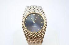 W116 Audemars Piguet Vintage 18K White Gold Case Blue Diamond Watch
