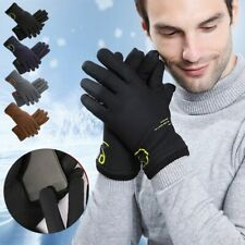 Mens Winter Warm Gloves Touch Screen Windproof Waterproof Thermal Gloves Mittens