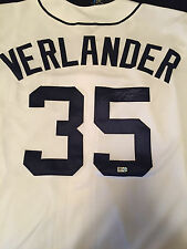 Justin Verlander Signed Jersey MLB Authenticated Detroit Tigers Autographed Auto