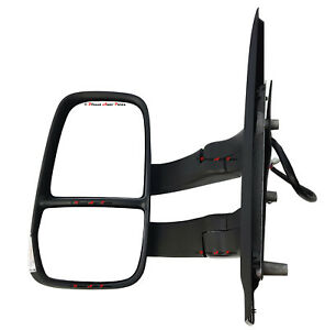 *NEW* DOOR MIRROR (ELECTRIC LONG ARM 7+ 2 PINS) for IVECO DAILY 7/2014 -ON LEFT